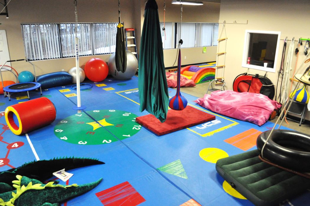 Elements of a sensory gym